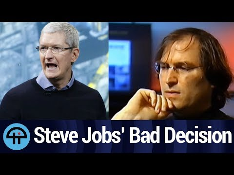 Tim Cook: Steve Jobs' Worst Decision