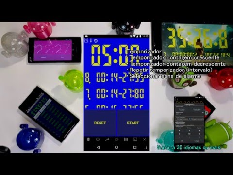 a5ad08e000e Cronômetro e temporizadores. Altera a exibição para a que melhor se adapta  ao teu gosto. Um cronómetro simples e temporizador com uma interface fácil  de ver ...