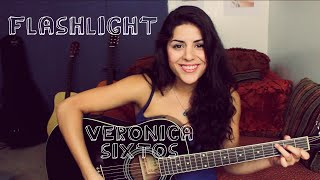 Video Jessie J - Flashlight (from Pitch Perfect 2) [ Veronica Sixtos Acoustic Cover ] download MP3, 3GP, MP4, WEBM, AVI, FLV April 2018