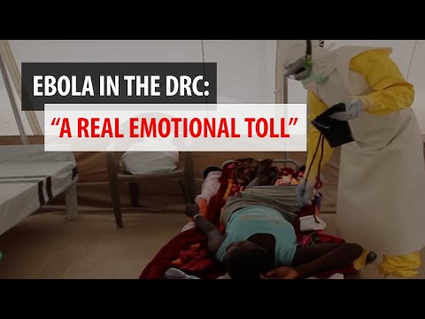 """Ebola:  """"It's a disease that exacts a real emotional toll"""""""