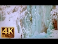 Beautiful Winter Scenes in 4K | Franklin Falls in Winter - Snoqualmie Region - TRAILER 46