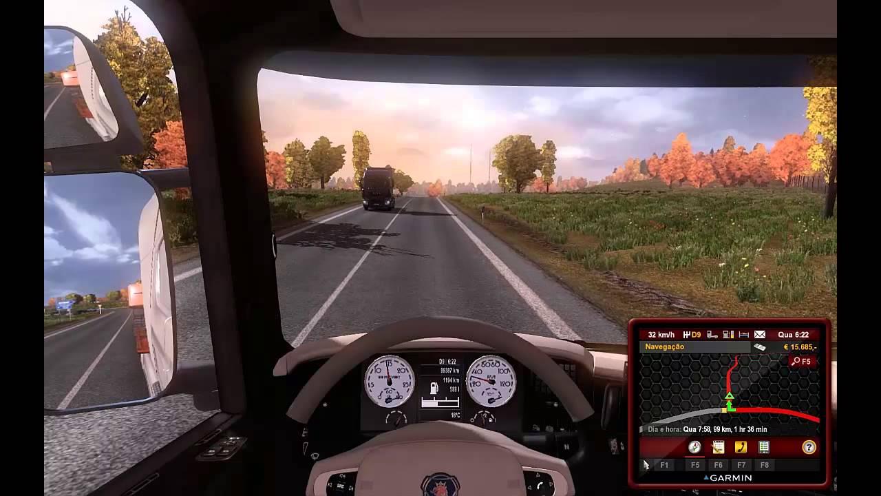 Euro truck simulator 2 + romania map + linck download youtube.