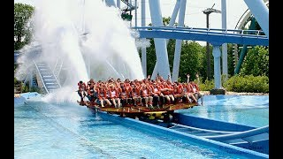 Rollar Coaster Water Ride Blue World Kanpur