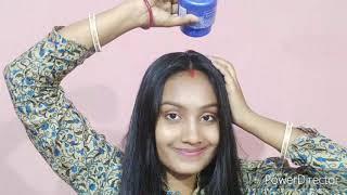 200 ML Coconut Oil Heavy Hair Oiling | Chap Chap Oiled Hair Style | Oiled Hair Ribbon Braid