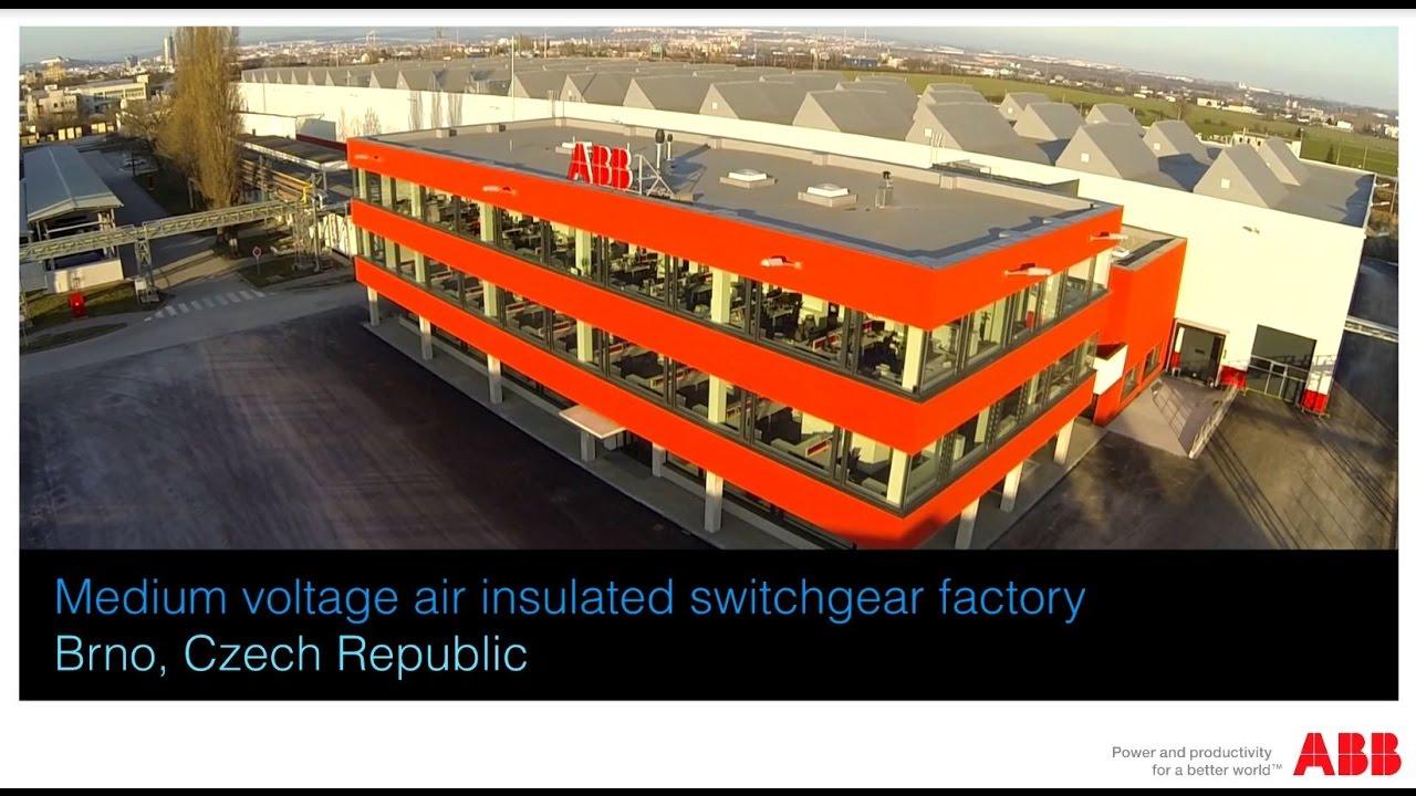 ABB EPMV Brno Factory – Air insulated Switchgear facility