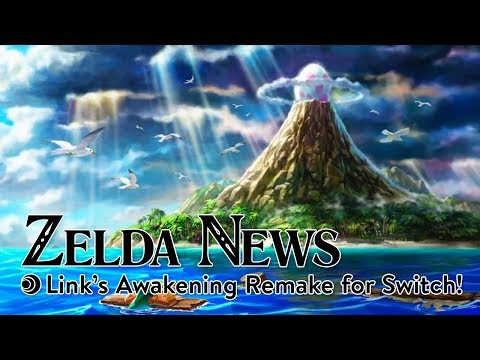 Zelda News | Link's Awakening Remake for Switch!