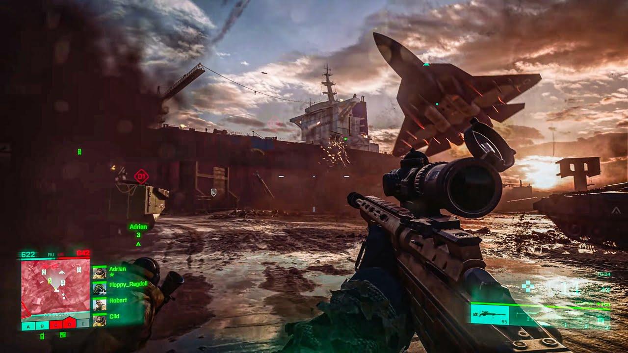 Battlefield 2042 Official Gameplay Trailer - 4K