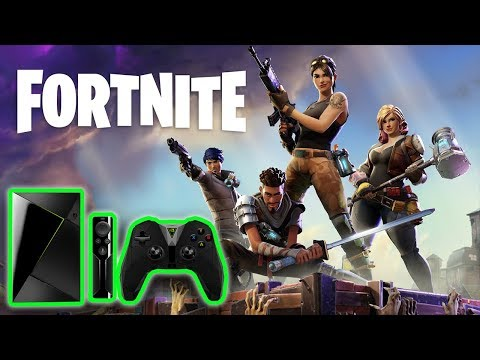 HOW TO PLAY FORTNITE ON THE NVIDIA SHIELD TV USING GAMESTREAM | 2018