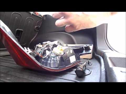 2012 2015 Subaru Impreza Hatchback Tail Light Bulb Change
