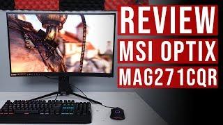Msi Optix Mag321Cqr Curved Monitor - Psnworld