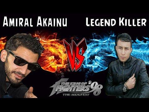 KOF 98 - LIVE MATCH - [Amiral Akainu] (Algeria) vs Legend_killer (Algeria) FT 10 - 10-04-2018