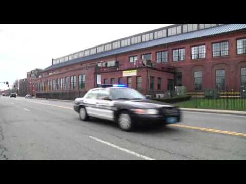 Raw: Police With Guns Drawn in Watertown