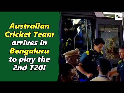 Watch: Australia Arrives In Bengaluru To Play The 2nd T20I Against India | India Vs Australia