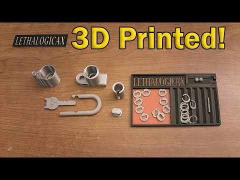 [425] Lock Sport Update | 3D Printed Disc Detainer Lock by LethalogicaX Shared!