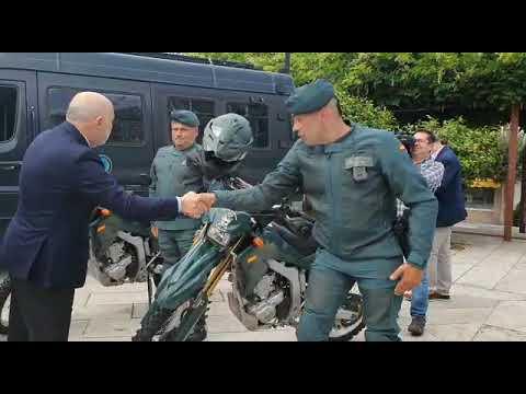 La Guardia Civil incorpora a 57 personas y un helicóptero para la prevención de incendios en Galicia