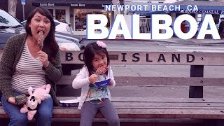 Family Fun at Balboa Island, Newport Beach
