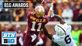 B1G Defensive Back of the Year: Minnesota DB Antoine Winfield Jr.   B1G Football