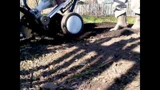 Культиватор Stihl MM 55, почвенная фреза, колеса и груз.(, 2013-05-23T18:53:17.000Z)