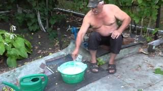 видео Как подготовить известь для строительного раствора