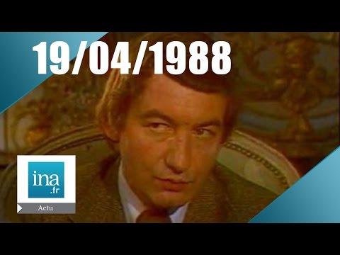20h Antenne 2 du 19 avril 1988 - Mort de Pierre Desproges   Archive INA