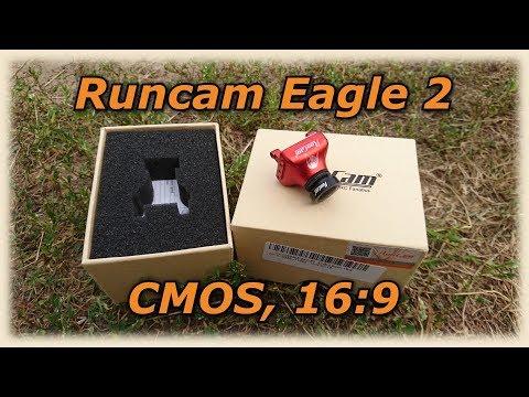 Runcan Eagle 2 NTSC/PAL, CMOS, 16:9, Обзор 🎥 📺 FPV Камера.