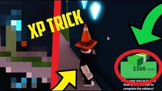 UNLIMITED XP JEWELRY STORE TRICK/GRIND! (Roblox Jailbreak Level Up Fast)
