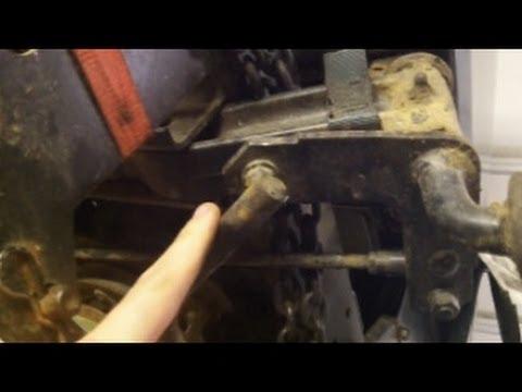 Drag Link Cheap Fix Craftsman Ayp Youtube