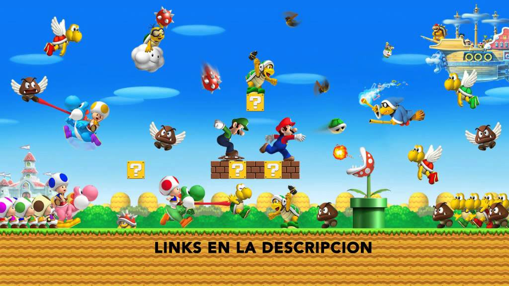 New Super Mario Bros 2 3DS [MEGA] [ESPAÑOL]