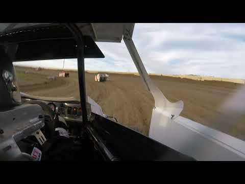 Stuart Speedway Mini Mod Crash