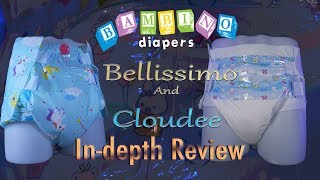 Bambino Bellissimo and Cloudee In-Depth Review #adultdiaper