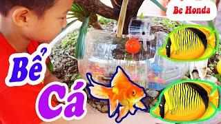 Bể Cá bằng Chai Nhựa - Thế này ai cũng làm được | Be Honda