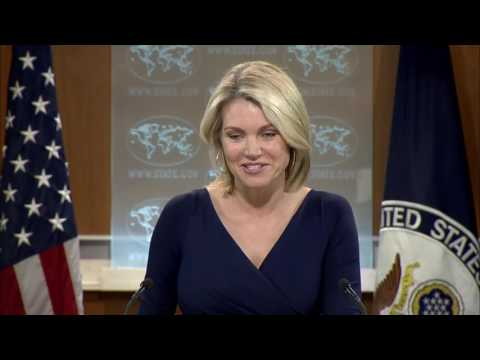 WATCH: Heather Nauert US State Department Press Briefing, June 15, 2017