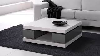 modern minimalist coffee table in your living room