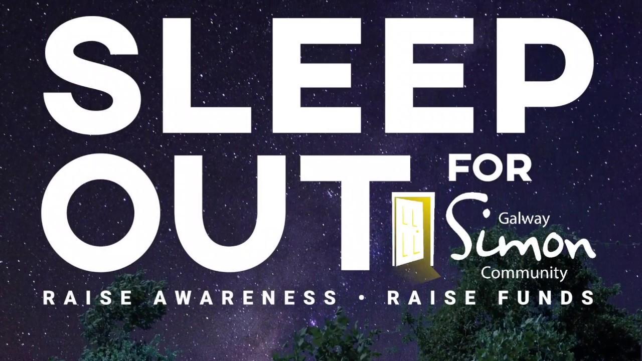 5980be04c09e Galway Simon Community Sleep Out for Simon 2018 - YouTube