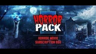 HorrorPack September 2018 Unboxing Blu Ray & DVD Packs