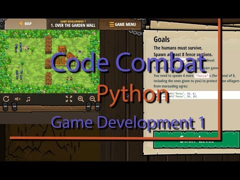 CodeCombat Over the Garden Wall Level 1 Python Game Development Tutorial thumbnail