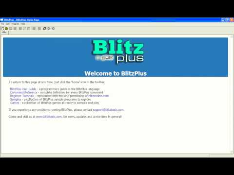Simple Beginner BlitzPlus Tutorial 1 - Using text (Blitz Basic)