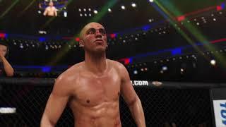 Edson Barboza Devastating Knee KO - EA SPORTS™ UFC® 3