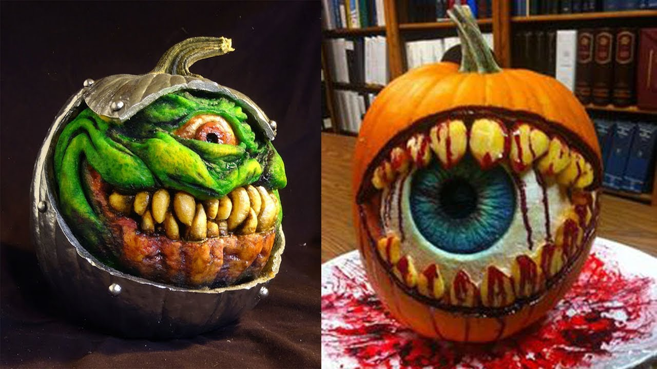 The best pumpkin carvings ever youtube
