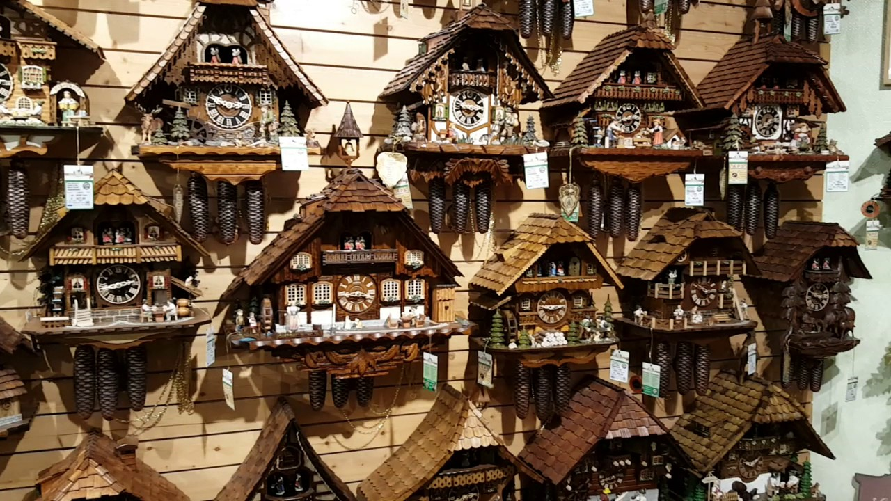 the shop of a thousand cuckoo clocks in triberg black forest germany - Black Forest Cuckoo Clocks