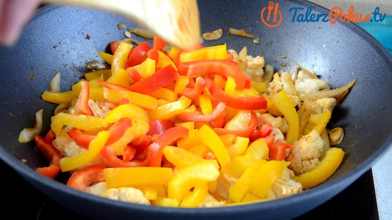 Curry warzywne z papryką i warzywami – TalerzPokus.tv