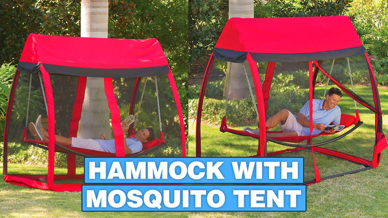 This Hammock Tent Helps You Relax In a Hammock With No Mosquitoes  sc 1 st  YouTube & This Hammock Tent Helps You Relax In a Hammock With No Mosquitoes ...