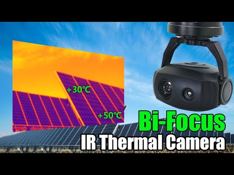 Economical 10x Optical Zoom 320x240 IR Thermal Camera For Drones And VTOLs.