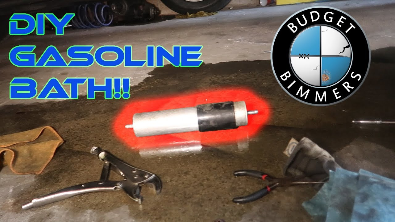small resolution of 740il fuel filter replacement diy