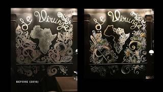 Liquid Chalk/ Acrylic Mural Painting  l Live Stream Timelapse