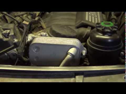 Bmw Oil Filter Housing And Oil Cooler Gasket Replacement