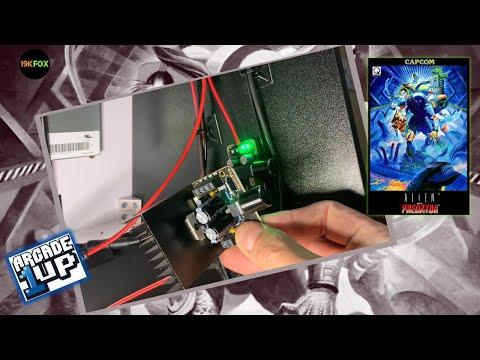 Arcade1up AVP Audio Update from 19kfox