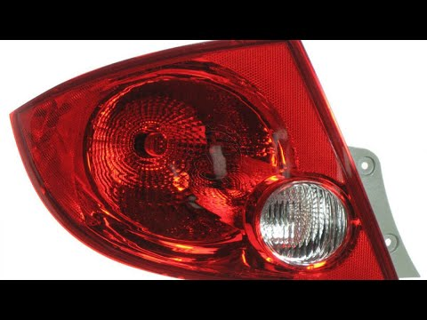 2007 Pontiac G5 Chevy Cobalt Taillight Replacement