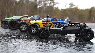 RC cars on ice