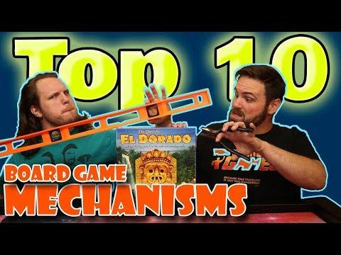 Top 10 Board Game Mechanisms